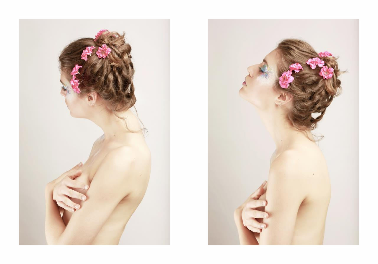 emilie fraeyman in beauty of flowers by jean michel nguyen and jesahel