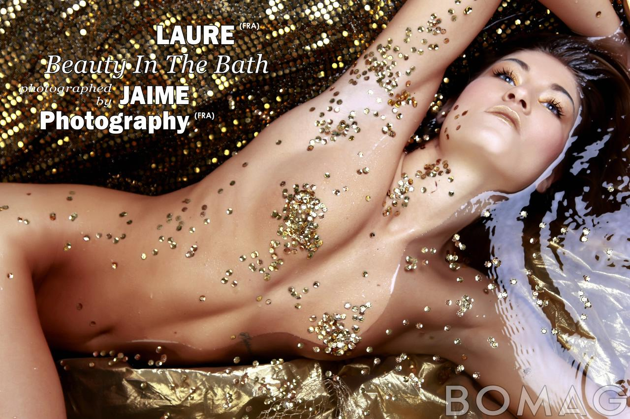 laure in beauty in the bath by jaime photography