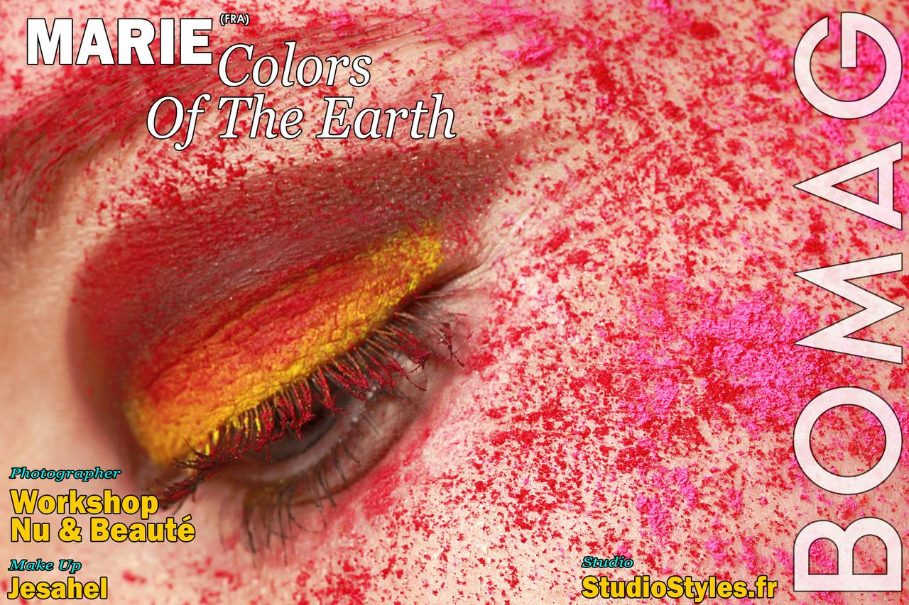 marie in colors of the earth by workshop nu beaute and jesahel